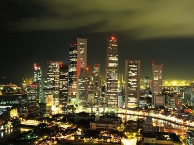 Metropolitan Singapore at Night