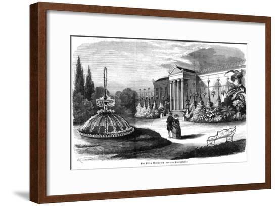 Metternich's Residence 2--Framed Giclee Print