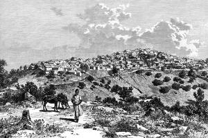 A Kabyle Village, North Africa, 1895 by Meunier