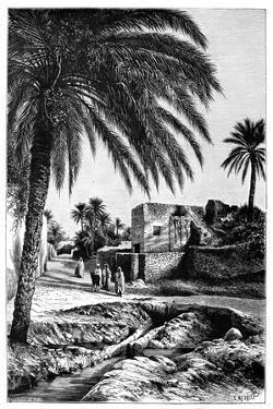 A Street in Biskra, Algeria, 1895 by Meunier