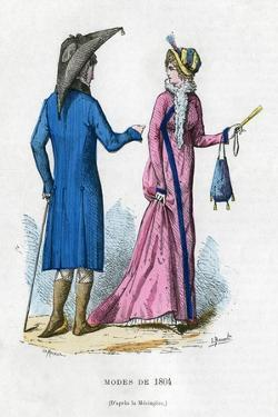 Fashion of 1804 (1882-188) by Meunier