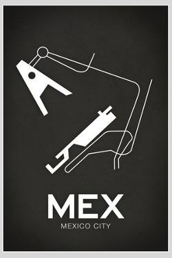 MEX Mexico City Airport Plastic Sign