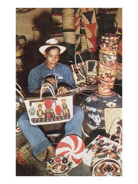 Mexican Basket Weaver