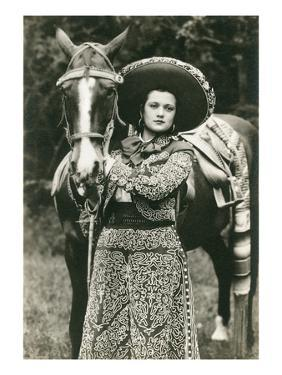 Mexican Charra with Horse