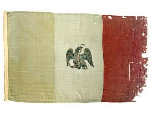 Mexican Flag from Statehouse in Victoria; National Museum of American History: Mexican Revolution