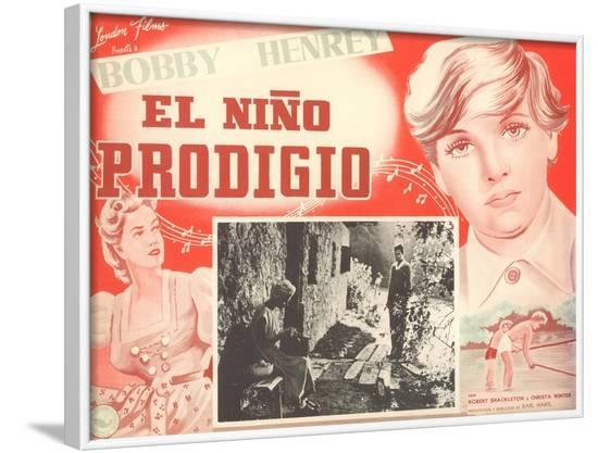 Mexican Movie Poster for the Prodigal Son--Framed Art Print