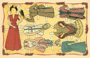 Mexican Paperdolls, Dresses