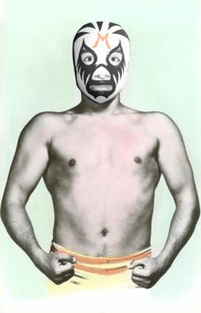 Mexican Wrestler in Mask