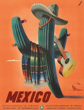 Mexico: Mariachi Cactus, c.1945