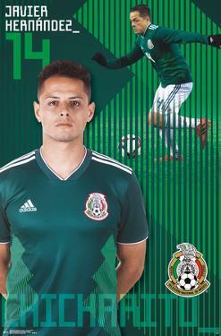 MEXICO NATIONAL SOCCER TEAM - JAVIER HERNANDEZ