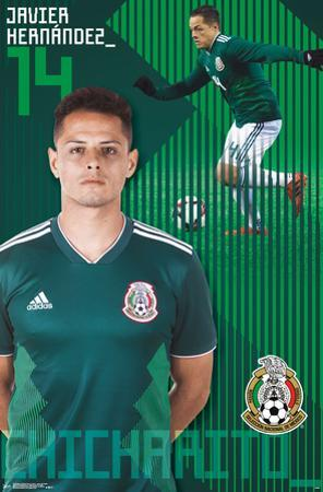 MEXICO NATIONAL SOCCER TEAM - JAVIER HERNANDEZ