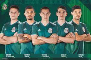 MEXICO NATIONAL SOCCER TEAM - TEAM
