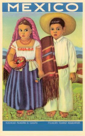 Mexico: Two Peasant Children