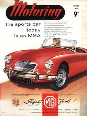 MG Convertibles, UK, 1950