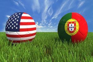 USA-Portugal by mhristov