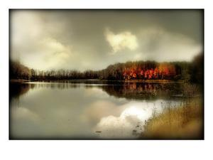 Autumn Lake by Mia Friedrich
