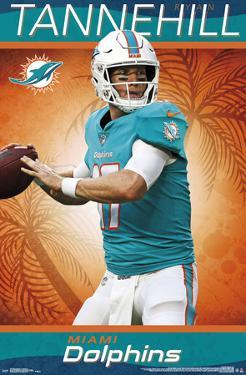 MIAMI DOLPHINS - R TANNEHILL 18