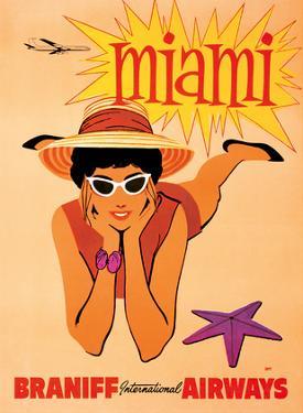 Miami, Florida - Braniff International Airways