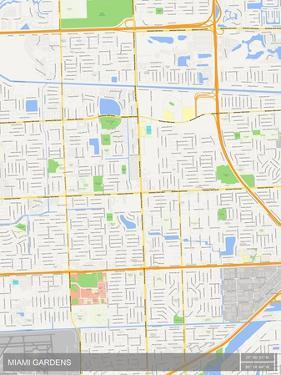 Miami Gardens, United States of America Map