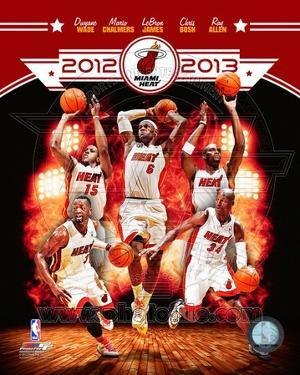 Miami Heat 2012-13 Team Composite