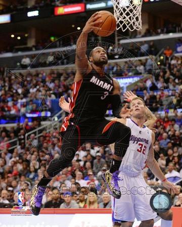 Miami Heat Dwyane Wade 2013-14 Action