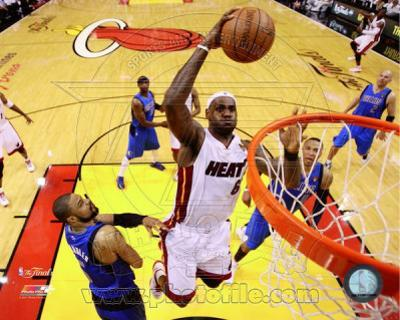 Miami Heat - LeBron James Game One of the 2011 NBA Finals Action(#2)