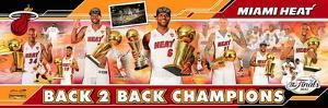 Miami Heat - Ray Allen, LeBron James, Dwyane Wade, Chris Bosh, Chris Andersen, Mario Chalmers, Norr
