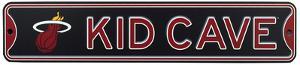 Miami Heat Steel Kid Cave Sign