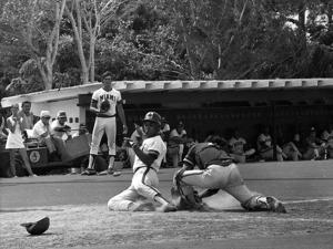 Miami Hurricanes Baseball Game, April 1977