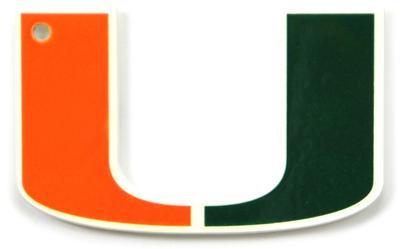 Miami Hurricanes Steel Magnet