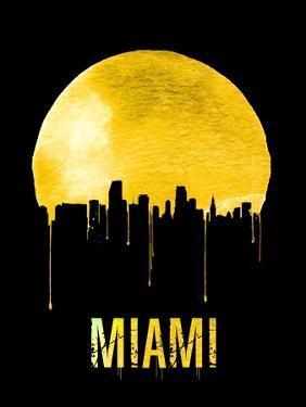 Miami Skyline Yellow