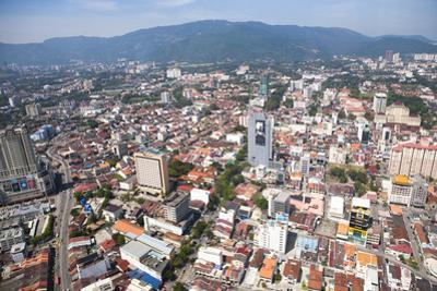 Aerial Views over the City of Penang, Malaysia