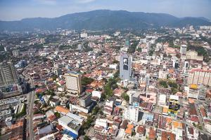 Aerial Views over the City of Penang, Malaysia by Micah Wright