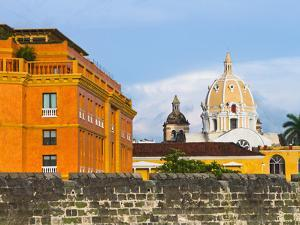 Basilica Menor Cathedral Constructed in 1575, Cartagena, Colombia by Micah Wright