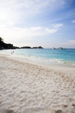 Beach Seascape of a Remote Island, Similan Surin Island Chain by Micah Wright