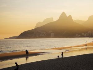 Ipanema Beach by Micah Wright