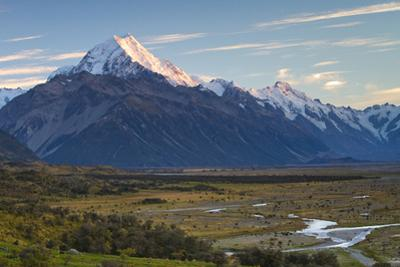 New Zealand's Aoraki, Mount Cook Is Located in the South Island