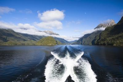 New Zealand's Doubtful Sound, Ferry Crossing Lake Manapouri