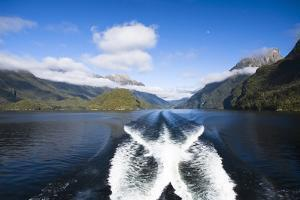 New Zealand's Doubtful Sound, Ferry Crossing Lake Manapouri by Micah Wright
