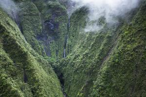 Scenic Views of Kauai's Interior Rain Forests from Above by Micah Wright