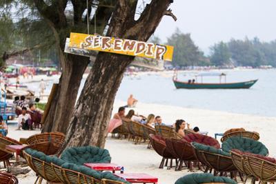 Serendipity Beach Is the Main Beach in Sihanoukville, Cambodia