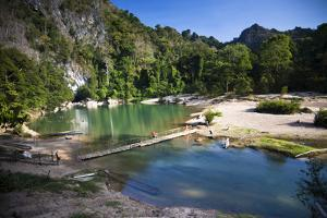 The Area Surrounding the Caves Is Stunning Natural Scenery, Kong Lor by Micah Wright