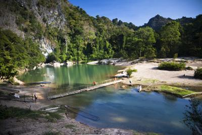 The Area Surrounding the Caves Is Stunning Natural Scenery, Kong Lor