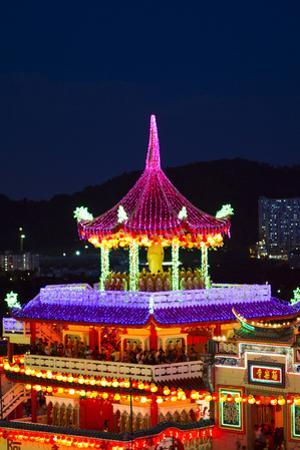 The Fantastic Lighting of Kek Lok Si Temple in Penang, Malaysia
