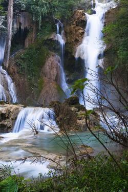 The Kuang Si Waterfalls Just Outside of Luang Prabang, Laos by Micah Wright