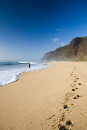 The Long Stretches of Beach, Polihale State Beach Park, Kauai, Hawaii