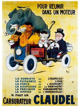 Carburateur Claudel