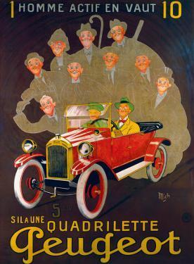 Quadreilette Peugeot by Mich (Michel Liebeaux)