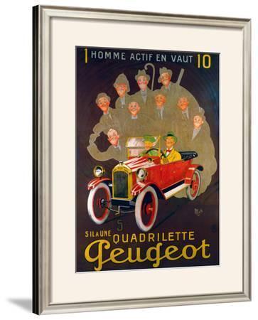 Quadreilette Peugeot