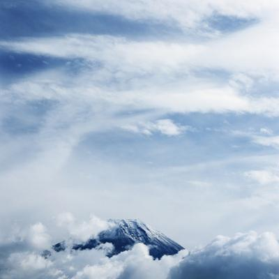 Mount Fuji with Clouds